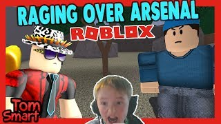 *RAGING*PLAYING ROBLOX ARSENAL (ROBLOX)