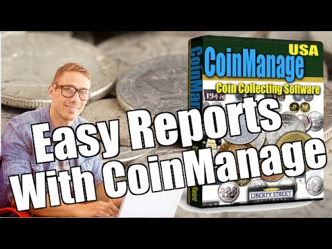 Easy Report Creation with CoinManage Coin Software
