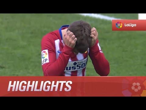 Highlights Atlético de Madrid (1-0) Málaga CF