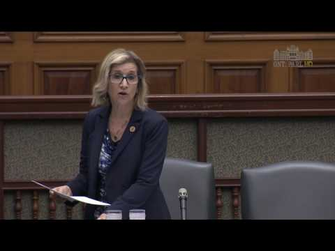 MPP Martow Speaks on Bill 89, Supporting Children, Youth and Families Act, 2016 (PART 1)