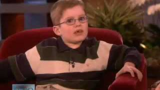 6 Year Old Brandt Bickford Invents a Dance Move! The Ellen DeGeneres Show