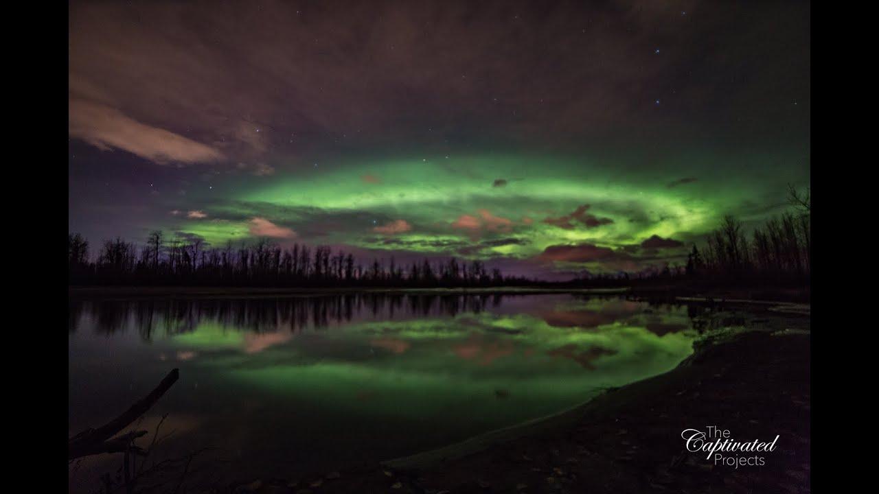 The Northern Lights Knik River Palmer Alaska New Years Eve