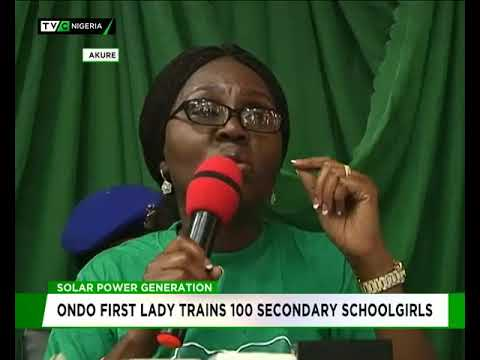 Ondo Govt trains 100 School girls on Solar Power Generation
