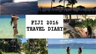 Fiji travel diary 2016