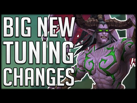 NEW CLASS CHANGES & BALANCING - Demon Hunter, Feral Druid, Shadow Priest & 2 Handed Frost DK