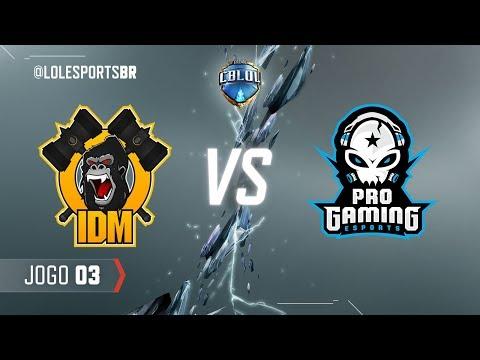 CBLoL 2018: IDM Gaming x ProGaming (Jogo 3)   Fase de Pontos - 2ª Etapa