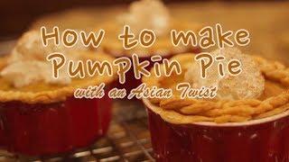 Pumpkin Pie With An Asian Twist