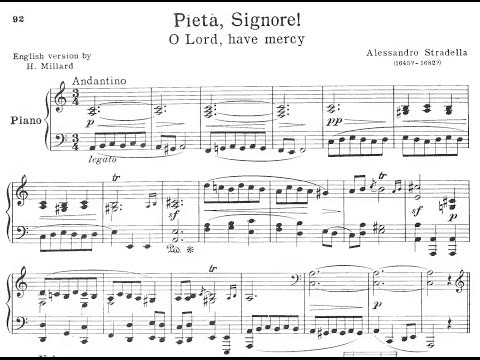 Pietà, Signore - Learn Italian Songs with Chai-lun Yueh Series