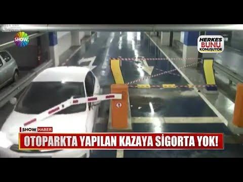 Otoparkta Yapılan Kazaya Sigorta Yok!
