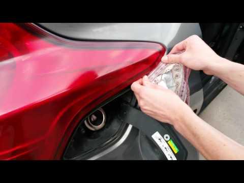 Как снять заднюю фару на форд фокус 3