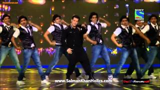 salman khans performance at filmfare awards 2014
