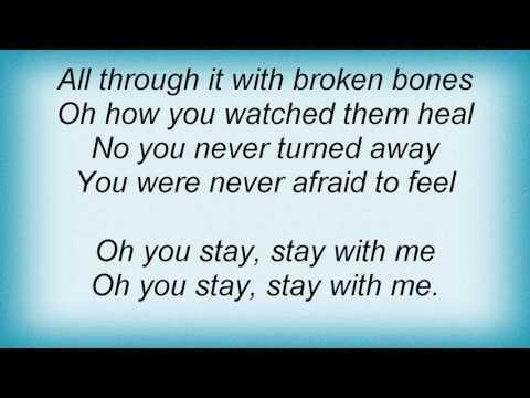 Amos Lee - Stay With Me Lyrics