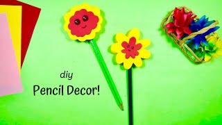 DIY Pencil Decor!   OddMix   Swamini Kulkarni   How to Make   Amazing Tutorial