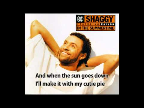 Shaggy  In The Summertime subtitles