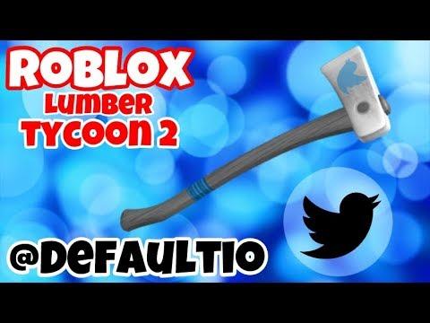 Bird Axe! [Twitter Axe!] Roblox Lumber Tycoon 2