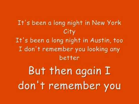 John Mayer - Who Says (lyrics)