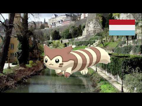 Furret Walks Through Literally Every Country in The World