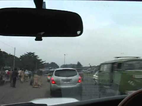 Congo 03 - Driving on the wrong side of the road - Kinshasa, D.R. Congo.