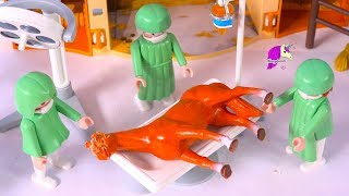 Help Me Hospital ! Fix Damaged Horse Toys Clay Makeover - DIY Custom Video