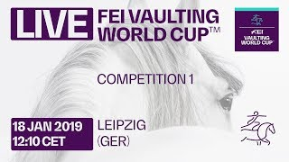 LIVE 🔴   Vaulting Competition 1   Leipzig (GER)   FEI Vaulting World Cup™