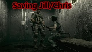Resident Evil HD: How To Save Jill/Chris (Sorry I Made You Wait/Sorry About The Wait Achievement)