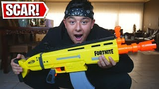REAL LIFE FORTNITE SCAR UNBOXEN