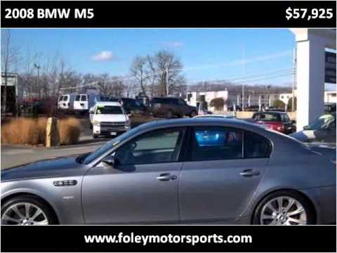 2008 BMW M5 Available From Foley Motorsports