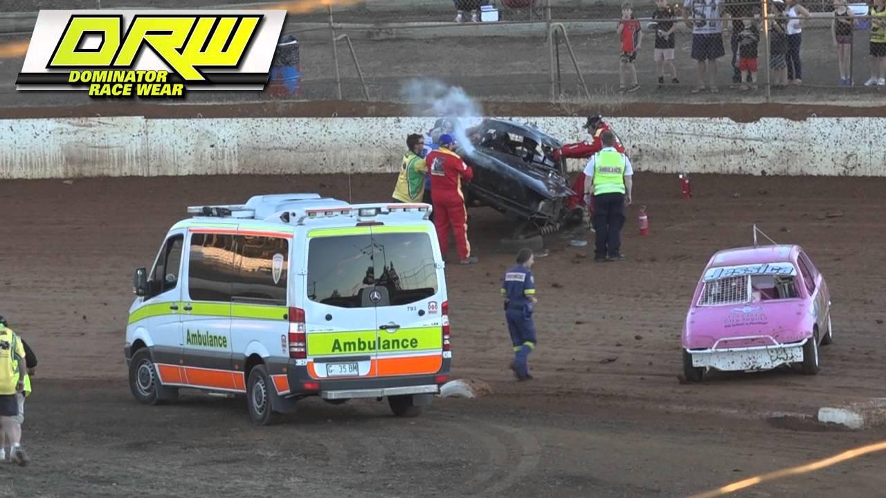Junior Sedans Australian Title Heat Carrick Speedway