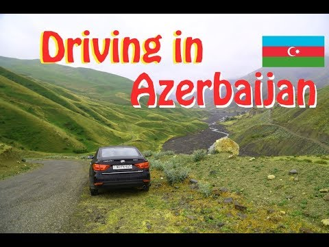 Driving into the MOUNTAINS of AZERBAIJAN, Quba to Xinaliq (Khinalug)