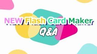 超・簡単操作のカード作成ソフト 「NEW Flash Card Maker」のよくあるQ&...