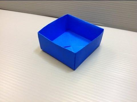 Origami desk organizer or pencil stand for back to school - Origami desk organizer ...