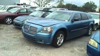 США, Флорида/ ML 55AMG за $800/ Покупка на аукционе битых машин