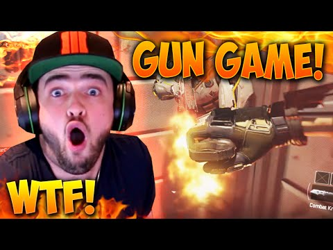 """WTFFFFFFFFFF!!!"" - Black Ops 3 GUN GAME! #3 - LIVE w/ Ali-A"