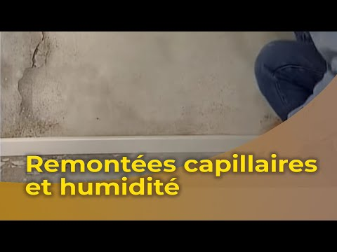 le traitement des murs contre les remont es capillaires d 39 humidit youtube. Black Bedroom Furniture Sets. Home Design Ideas