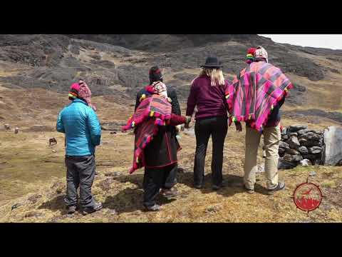 Anyi Ceremony With Peru Shaman Don Augustino on Sacred Mountain
