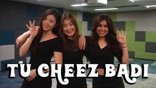 Cheez Badi | Machine | Bollywood Dance by Hanisha, Natalie & Rachel