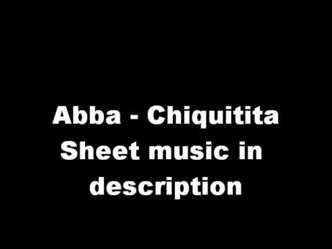 Abba Chiquitita Piano (Sheets in Description)