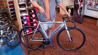 Jamis Sonic Track Bike - Velo Wrench Bike Shop