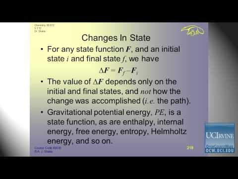 General Chemistry: Lec. 9. Thermochemistry: Work, Heat, & First Law of Thermodynamics