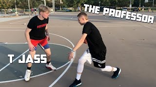 The Professor tries T jass crazy layup package.. Then teaches him signature moves Video