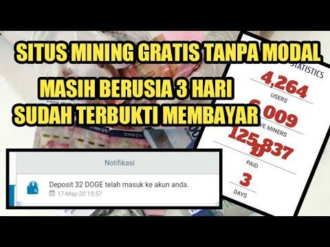 Mining Gratis Tanpa Modal ! Penghasil Dogecoin ! Situs Legit Penghasil Uang Terbaru