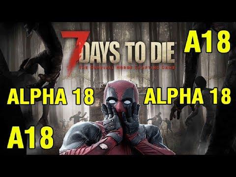 7 Days To Die Alpha 18 ►  Начало выживания ► #1 (Стрим)