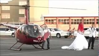 Me helikopter nusja zbret në Ferizaj!