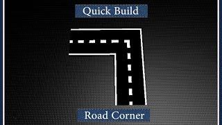 [ROBLOX] Quick Build: Road Corner