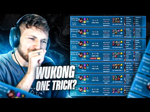 i'm turning into a wukong one trick
