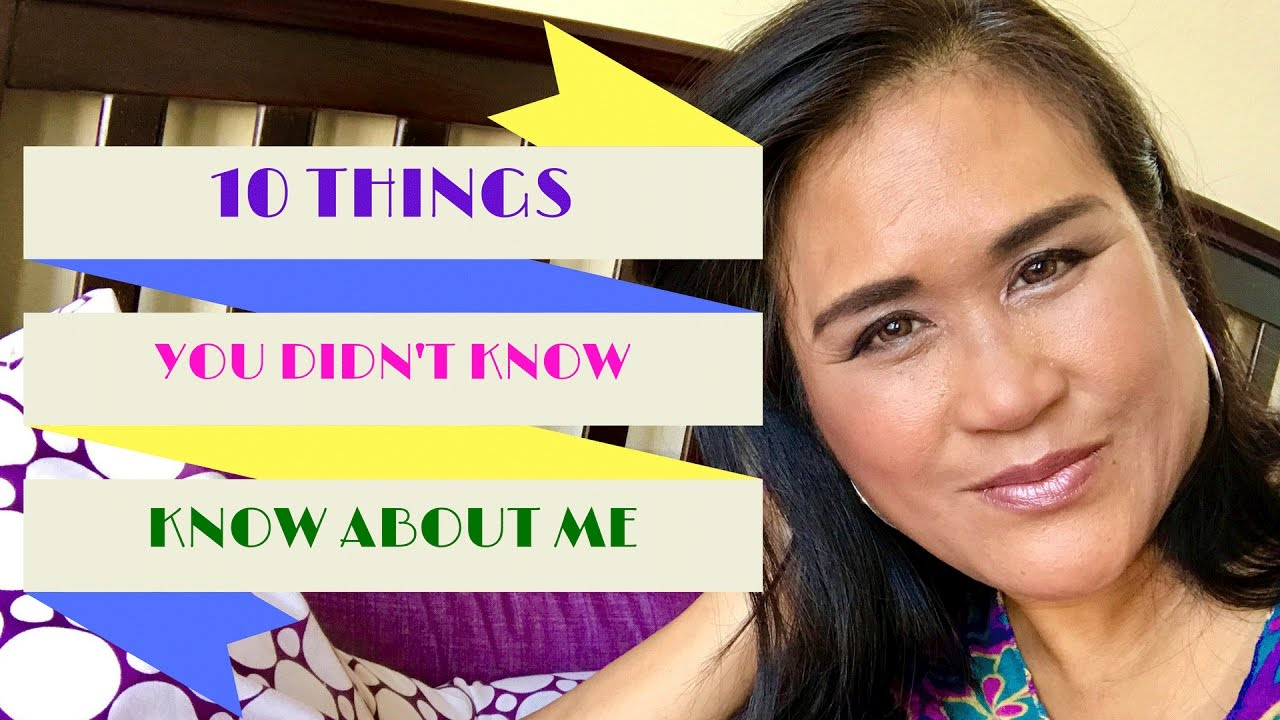 10 Things You Didn't Know About Me | Fun Facts