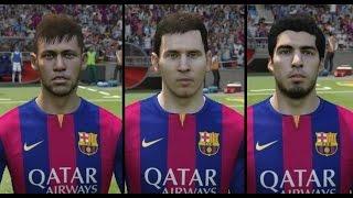 Neymar | Lionel Messi | Luis Suarez • Goals & Skills • FIFA 15 •