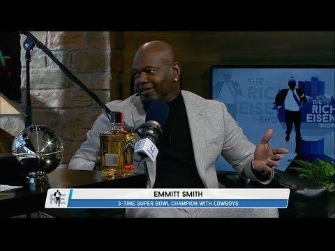 Pro Football Hall of Famer Emmitt Smith Talks SB52, Cowboys Future & More - 2/1/18