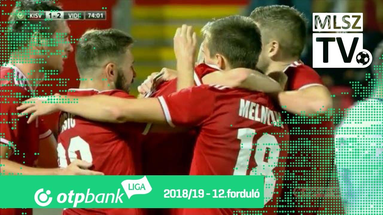 Dos Santos Tavares gólja a Kisvárda Master Good - Mol Vidi FC mérkőzésen