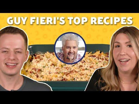 We Ranked Guy Fieri's Most-Popular Recipes | TASTE TEST